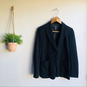 DKNY One button single breasted blazer
